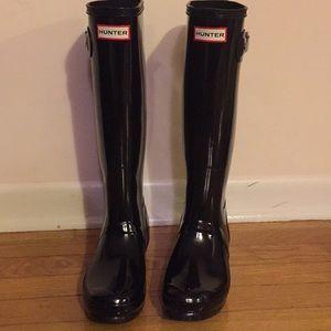 Hunter Rain Boots Size 7 US
